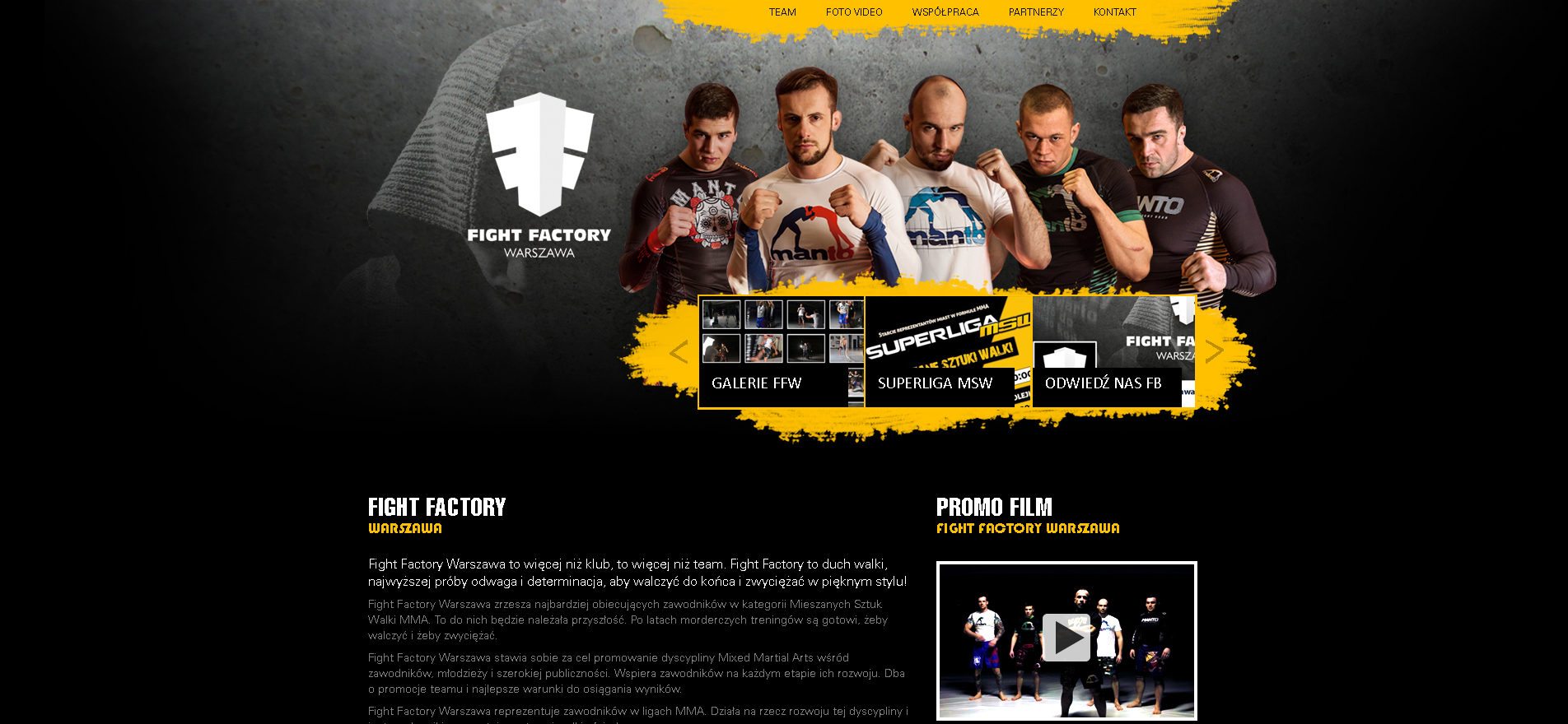 bzb effective brand solutions dla Fight Factory Warsaw