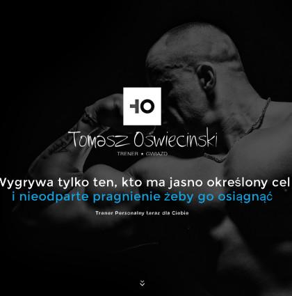 Identyfikacja Trener Personalny Tomasz Oświeciński