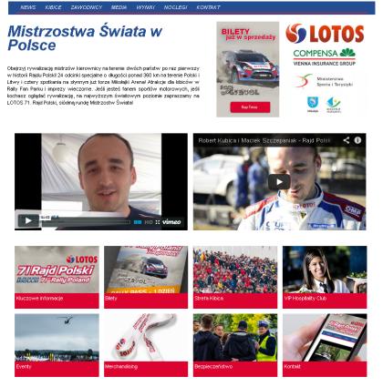 71 Rajd Polski – Strefa Kibica