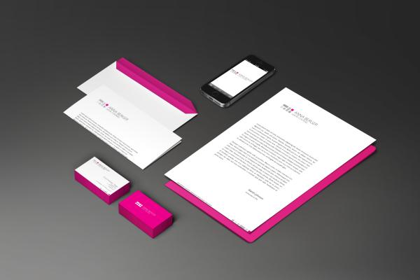 Identyfikacja Berger Legal Counsel bzb - effective brand solutions