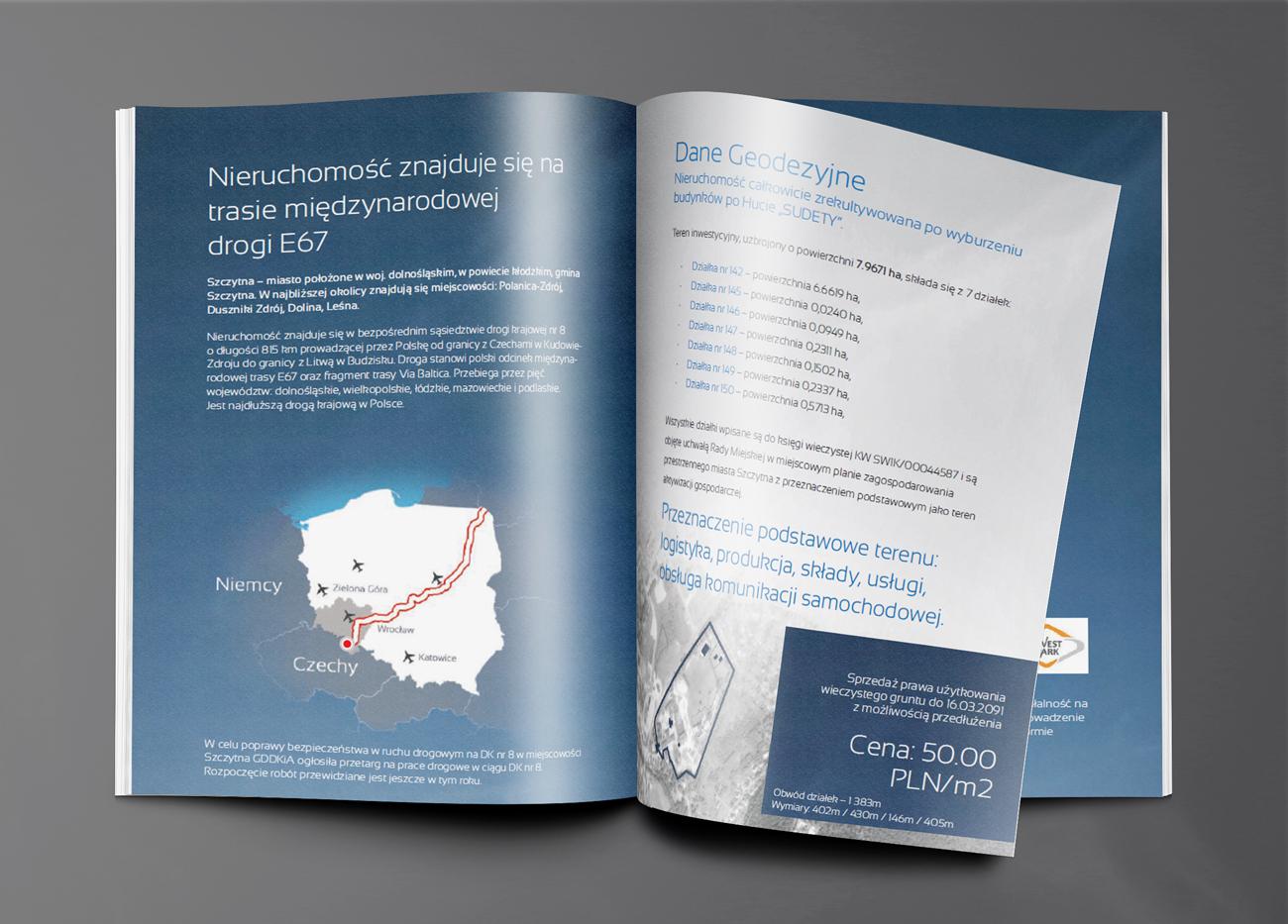 Prospekt sprzedaży dla Minex _broszura