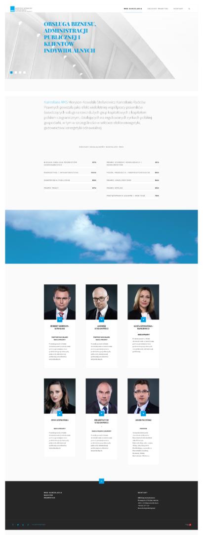 strona www od BZB Kancelaria MKS Moryson-Kowalski Stefanowicz Kancelaria Radców Prawnych